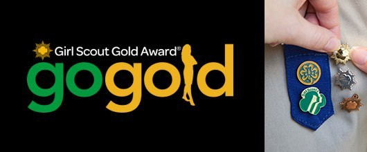 Girl Scout Gold Award Go Gold